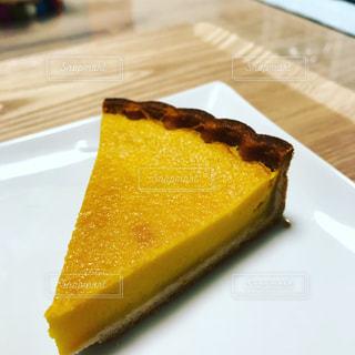 かぼちゃのチーズタルトの写真・画像素材[1004656]
