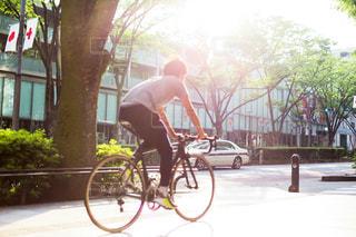 自転車の写真・画像素材[419675]