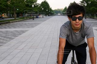 自転車の写真・画像素材[419678]