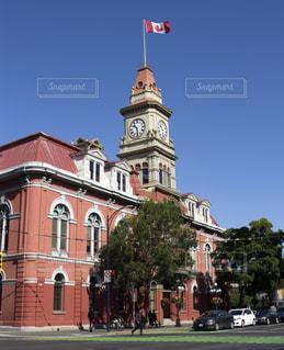 カナダ、ビクトリアの市役所の写真・画像素材[717132]