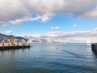 琵琶湖の湖岸公園の写真・画像素材[900830]