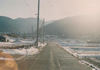 田舎道の写真・画像素材[880474]