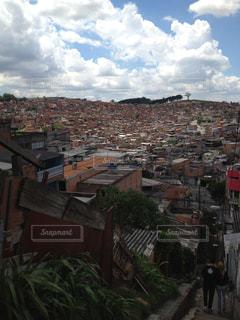 ブラジルのスラム街の写真・画像素材[299940]