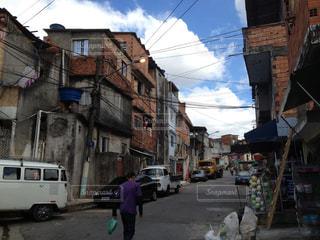 ブラジルのスラム街の写真・画像素材[299941]