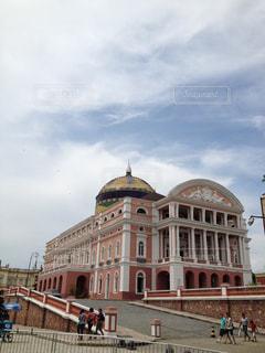 ブラジル、マナウスの劇場の写真・画像素材[299943]