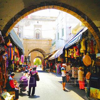 モロッコの市場の写真・画像素材[311413]
