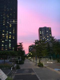 夕焼けの写真・画像素材[568941]