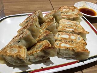 宇都宮駅の餃子館で食べた餃子!の写真・画像素材[1458202]