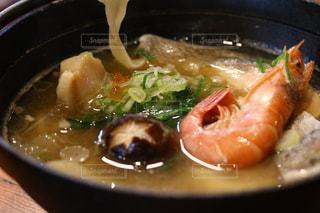 スープのボウルの写真・画像素材[1165025]