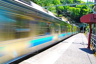 近くに電車のの写真・画像素材[1166355]