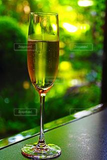 赤ワインのガラスの写真・画像素材[1185679]