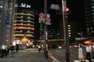 夜の街の写真・画像素材[1507443]