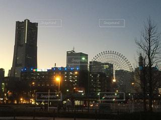 夕景の写真・画像素材[298602]