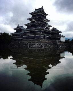 国宝 松本城の写真・画像素材[814975]