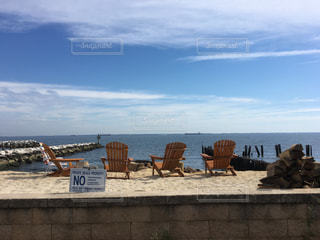 近所のプライベートビーチの写真・画像素材[815033]