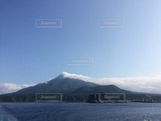 利尻富士の写真・画像素材[298321]