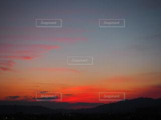 #sunset#夕焼け#夕焼け#雲#紅の写真・画像素材[358134]