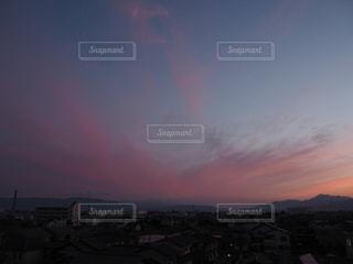 #sunset#夕焼け#夕焼け#雲#紅の写真・画像素材[545972]