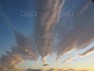 青い空のぼやけた画像の写真・画像素材[792768]