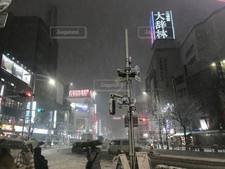 雪に覆われたの写真・画像素材[985752]