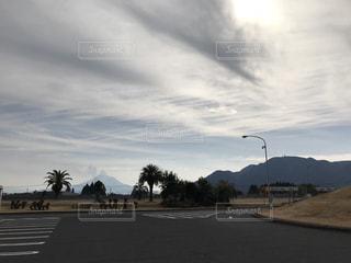 空の道の写真・画像素材[985764]