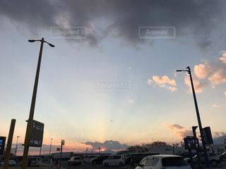 空には雲のグループ - No.988858