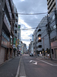街の通りの写真・画像素材[991977]
