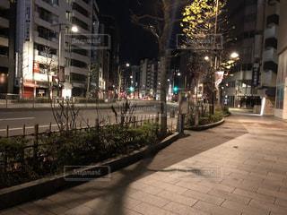 街の通りのビューの写真・画像素材[993331]