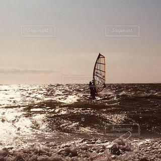 Wind surfingの写真・画像素材[1858645]