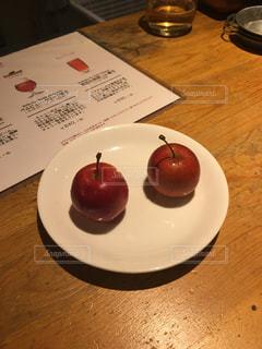 姫リンゴの写真・画像素材[300969]