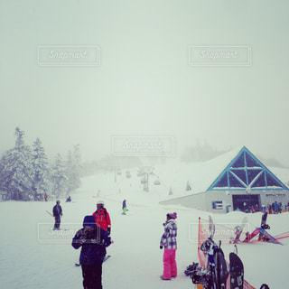 雪山の写真・画像素材[302228]