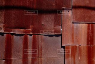 サビた鉄の壁の写真・画像素材[871275]