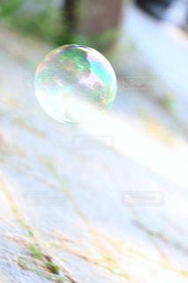 シャボン玉の写真・画像素材[589537]