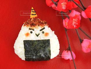 赤と白のケーキの写真・画像素材[991501]