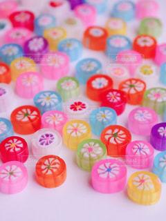 ピンクの花のグループの写真・画像素材[1013271]