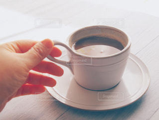 一杯のコーヒーの写真・画像素材[1023267]