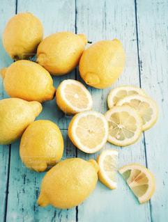カットレモンの写真・画像素材[1411921]