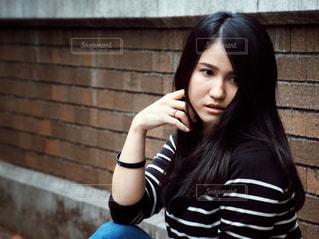 女性ポートレートの写真・画像素材[1550283]