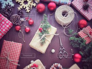 クリスマスの準備の写真・画像素材[1604904]
