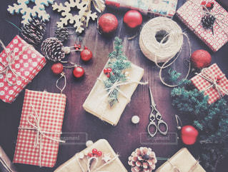 クリスマスの準備の写真・画像素材[1604905]