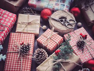 クリスマスプレゼントの写真・画像素材[1604907]