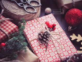 クリスマスプレゼントの写真・画像素材[1604909]
