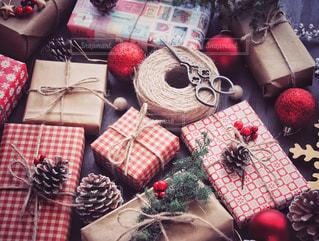 クリスマスプレゼントの写真・画像素材[1604911]