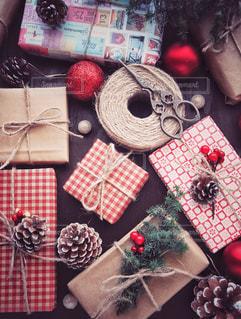 クリスマスプレゼントの写真・画像素材[1604912]