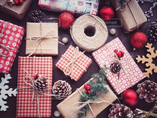 クリスマスプレゼントの写真・画像素材[1604913]