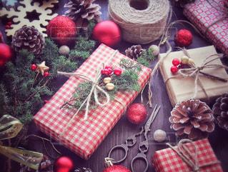 クリスマスプレゼントの写真・画像素材[1604914]