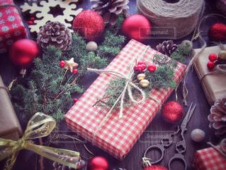 クリスマスプレゼントの写真・画像素材[1604915]