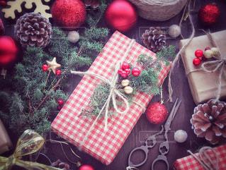 クリスマスプレゼントの写真・画像素材[1604917]