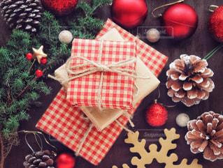 クリスマスプレゼントの写真・画像素材[1604918]