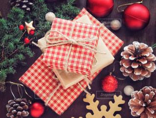 クリスマスプレゼントの写真・画像素材[1604919]